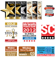 Windows IT Pro Community Choice and Editors' Best Awards of 2010, 2011 and 2012 that NetWrix Change Reporter Suite received as Best Auditing and Compliance Product and Best Active Directory and Group Policy Product, Redmond Magazine Readers' Choice Award of 2011 for Best Security Auditing Tool, 2011 Tomorrow's Technology Today Award for Best Auditing Solution and other awards