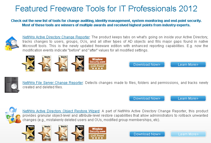 Windows 7 Top 10 Free Tools for IT Professionals 1.0.0 full